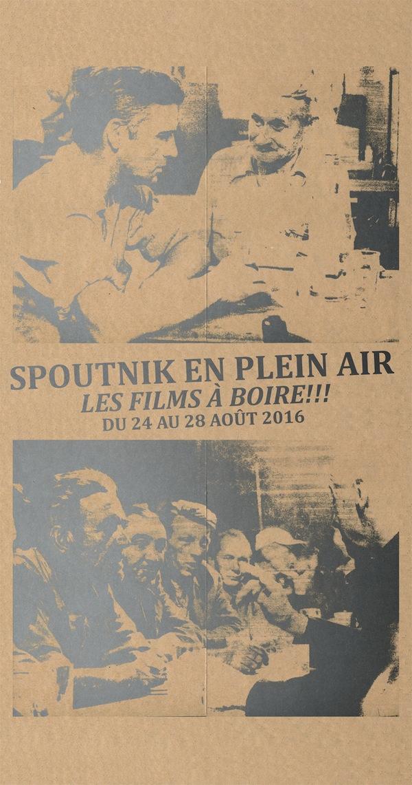 Spoutnik en plein air - les films à boire