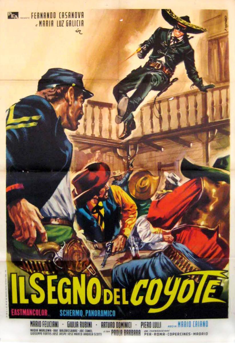 il_segno_del_coyote_poster