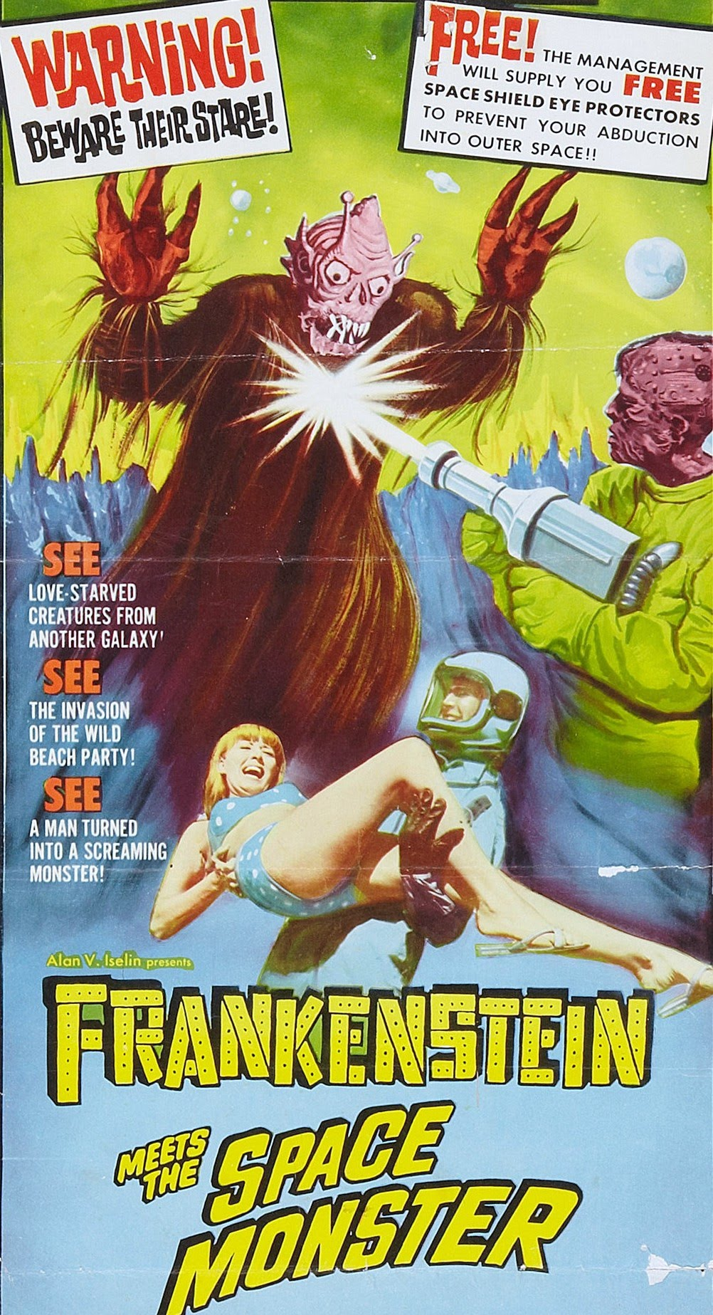 psychotronique spoutnik frankenstein meets the space monster
