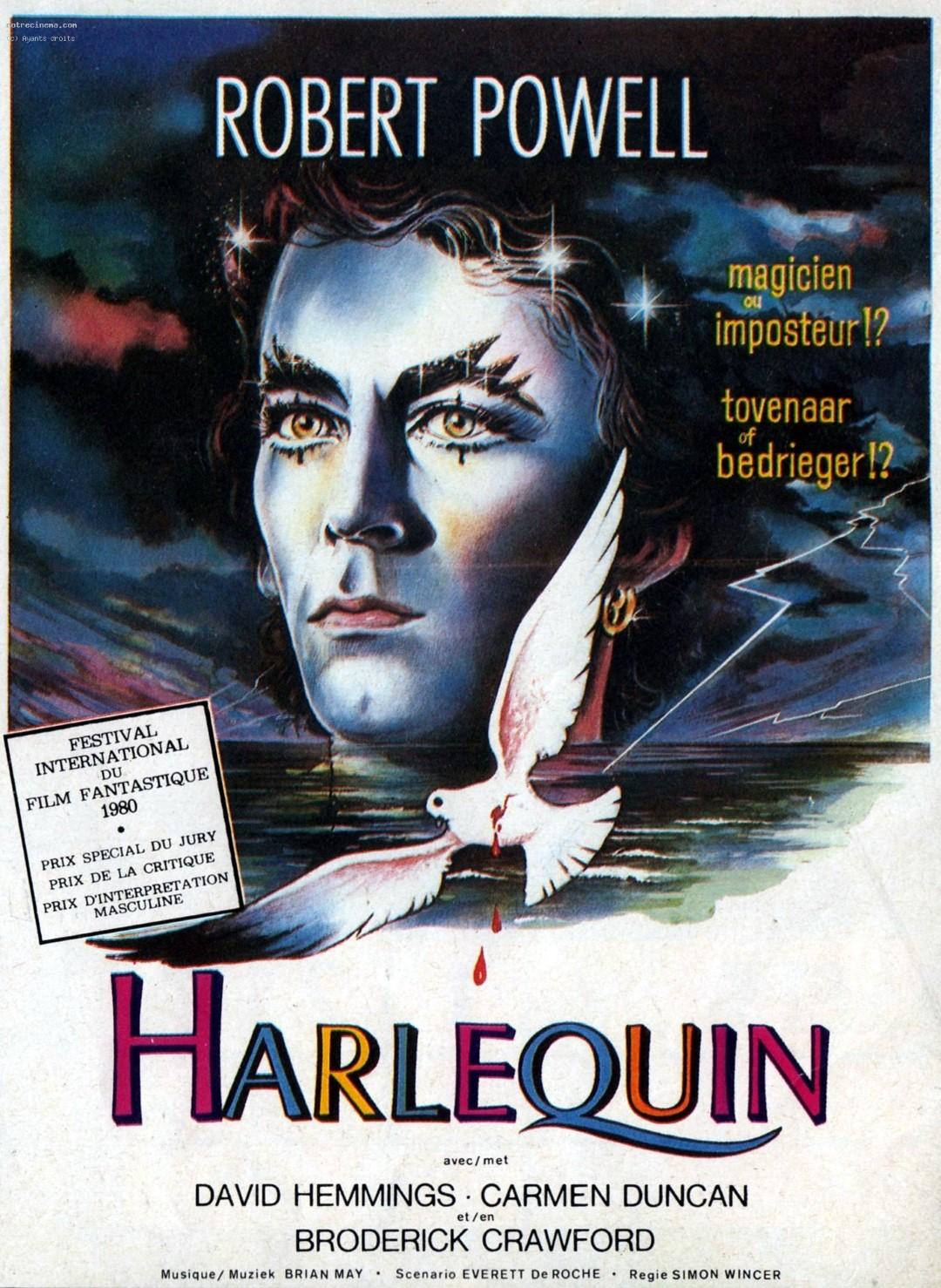 spoutnik psychotronique harlequin