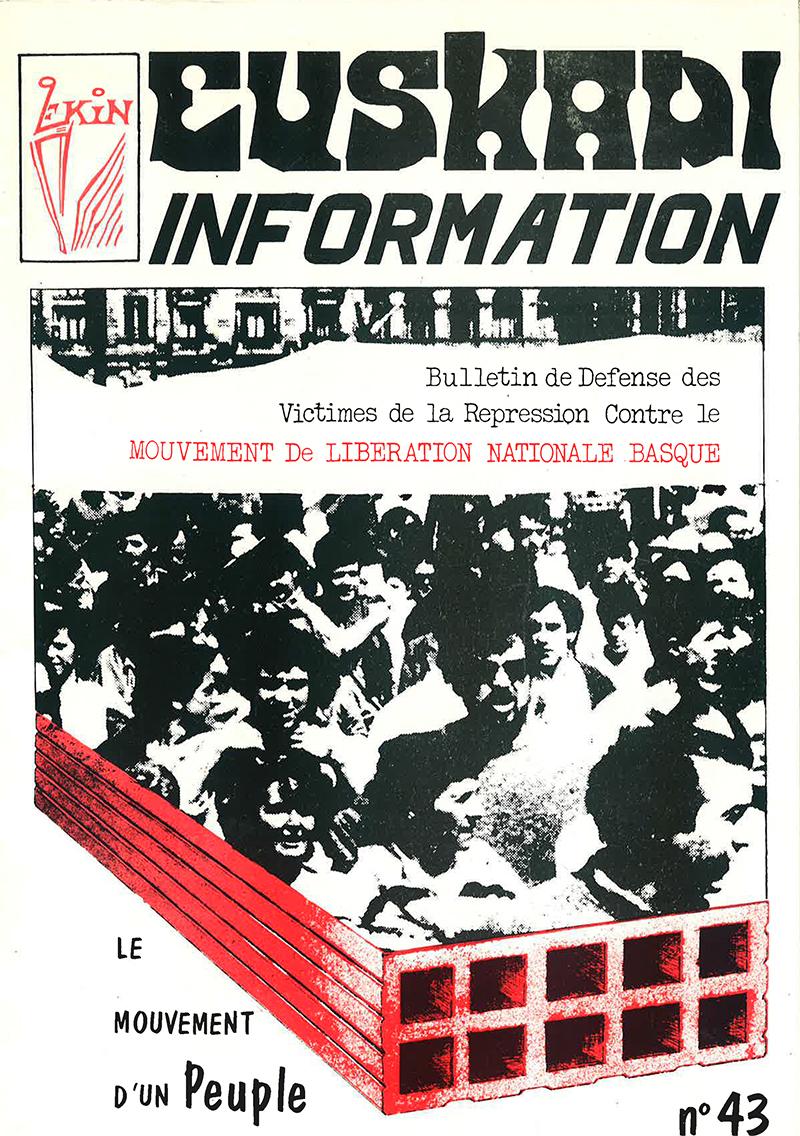EUSKADI OCTOBRE 1986 SPOUTNIK MARIGNAC