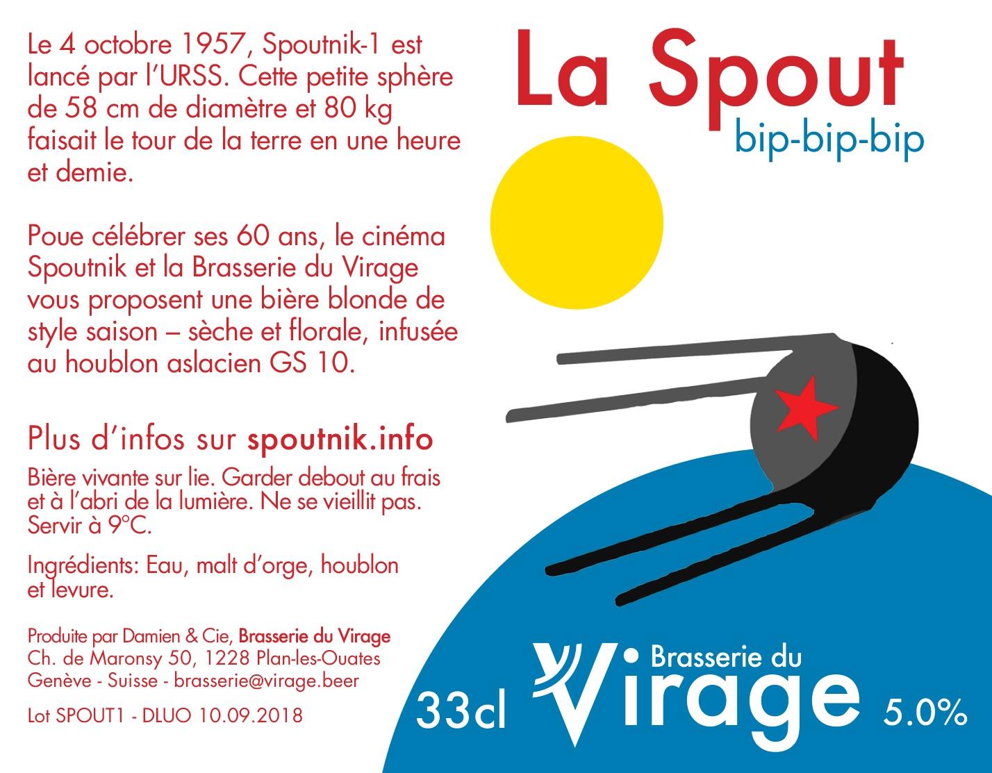 brasserie du virage La Spout cinéma spoutnik
