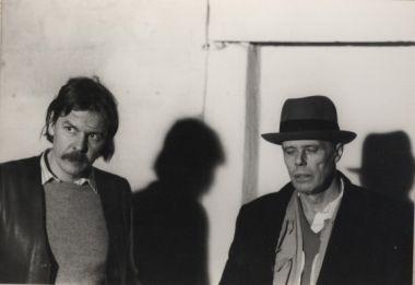 BEUYS SPOUTNIK TAVERNE DU FAUBOURG WERNER NEKES JANVIER 1987