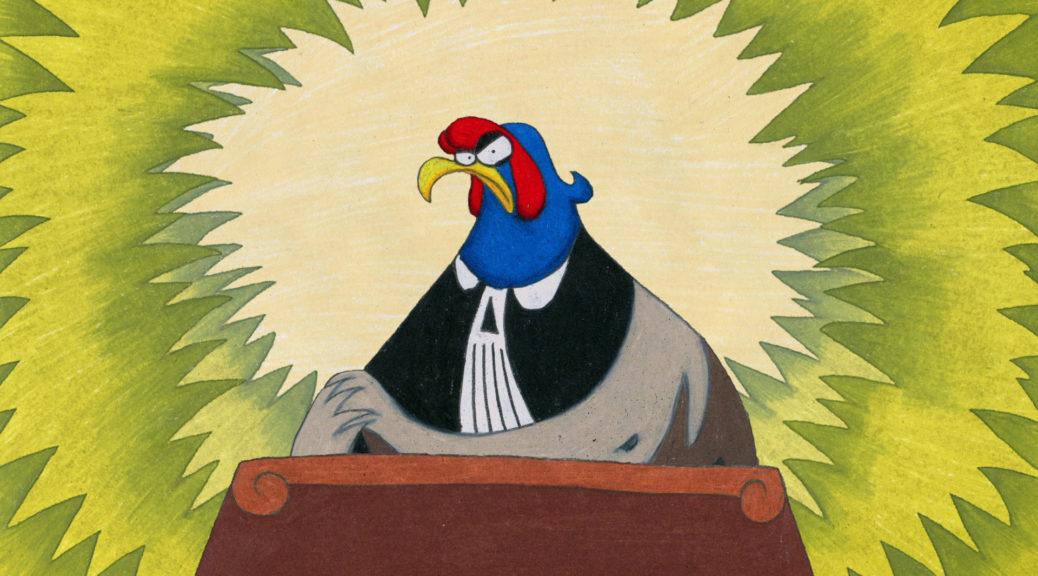animatou Uno strano processo Barelli Marcel