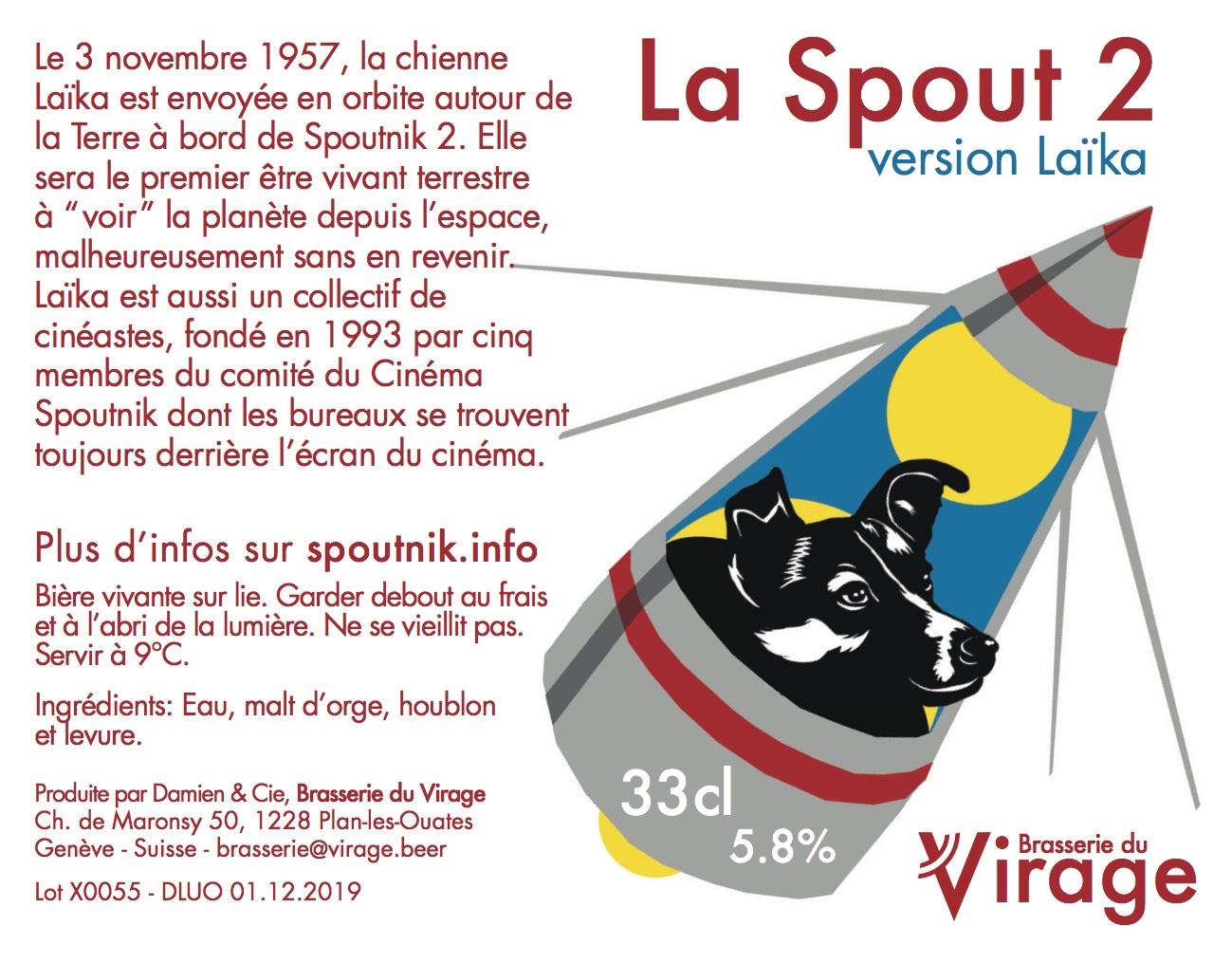 La spout 2 laïka cinéma spoutnik brasserie du virage