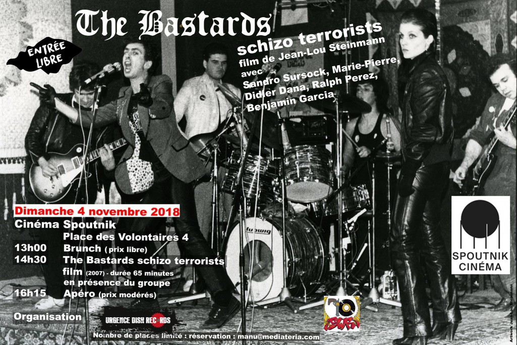 The Bastards schizo terrorist Jean-Lou Steinmann urgence disk cinema spoutnik