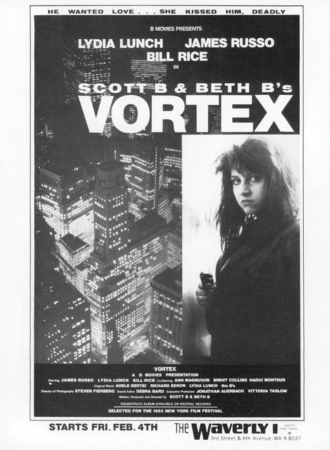 vortex lydia lunch beth b scott b cinema spoutnik