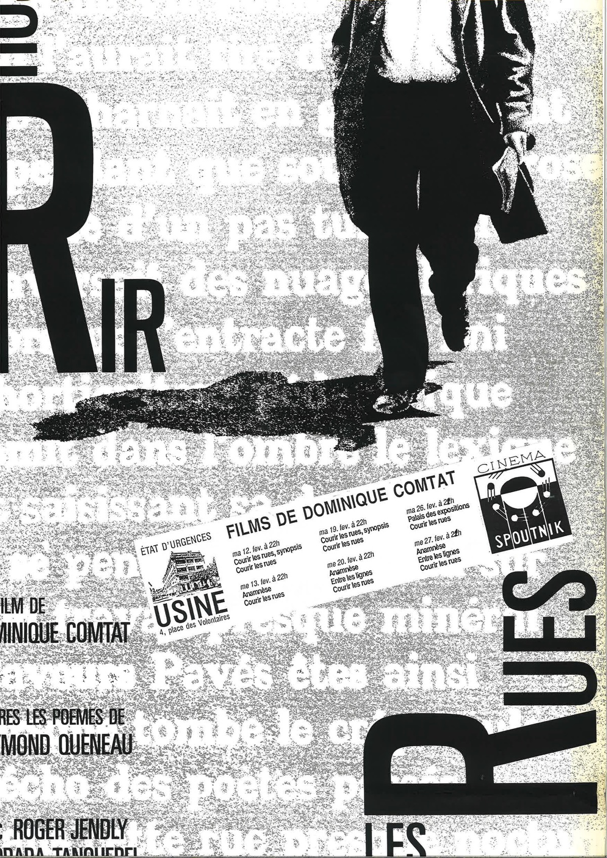 Cinq films de Dominique Comtat